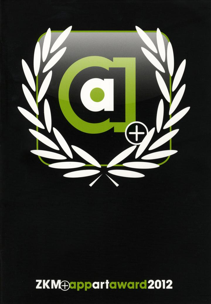 Cover der Publikation »ZKM AppArtAward 2012«