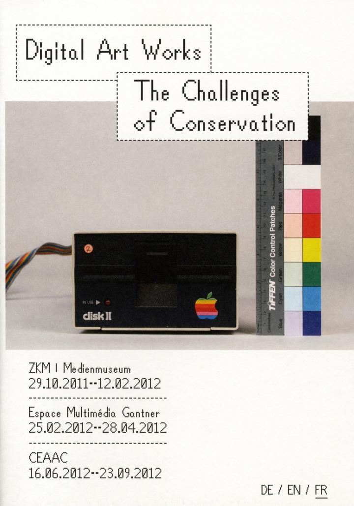 Cover of the publication »Digital Art Works (français)«