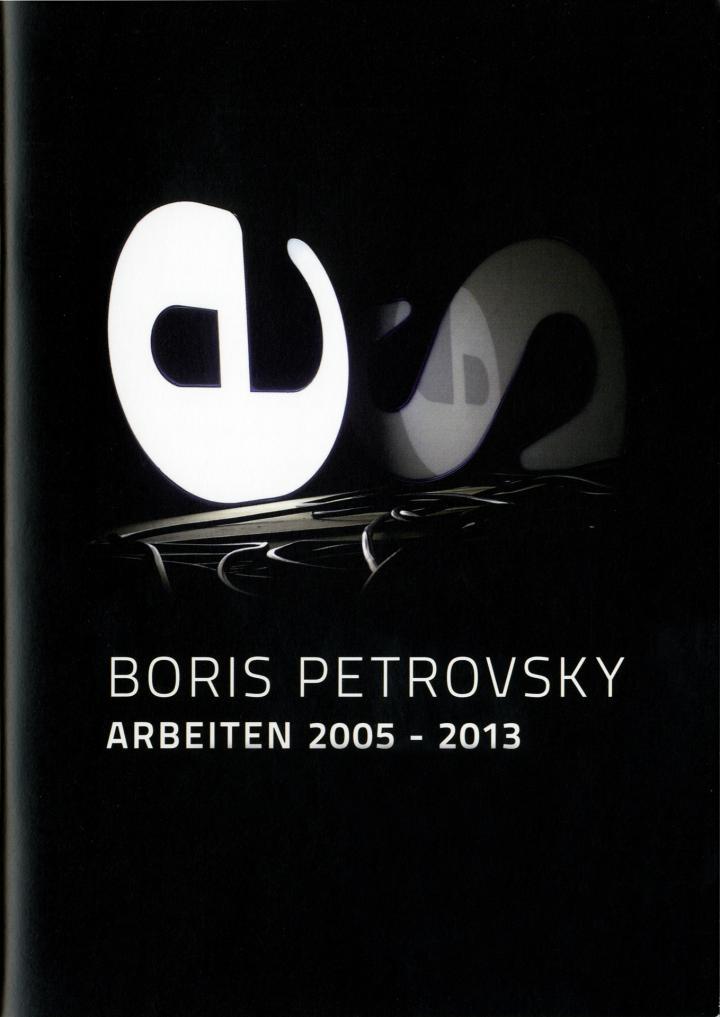 Cover der Publikation »Boris Petrovsky: Arbeiten 2005–2013«