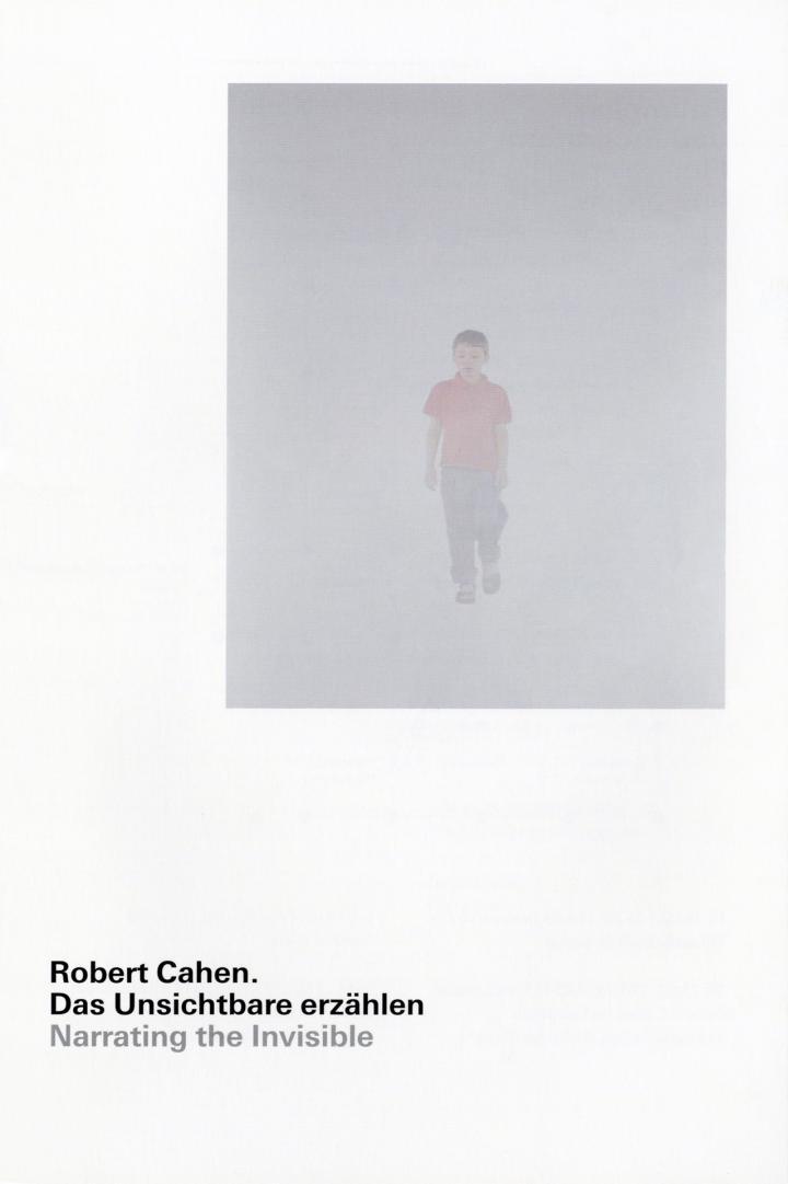 Cover of the publication »Robert Cahen: Das Unsichtbare erzählen«