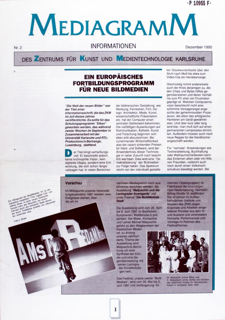 Cover of the publication »Mediagramm Nr. 2«