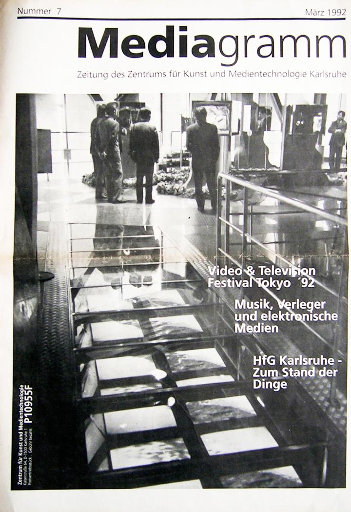 Cover of the publication »Mediagramm Nr. 7«