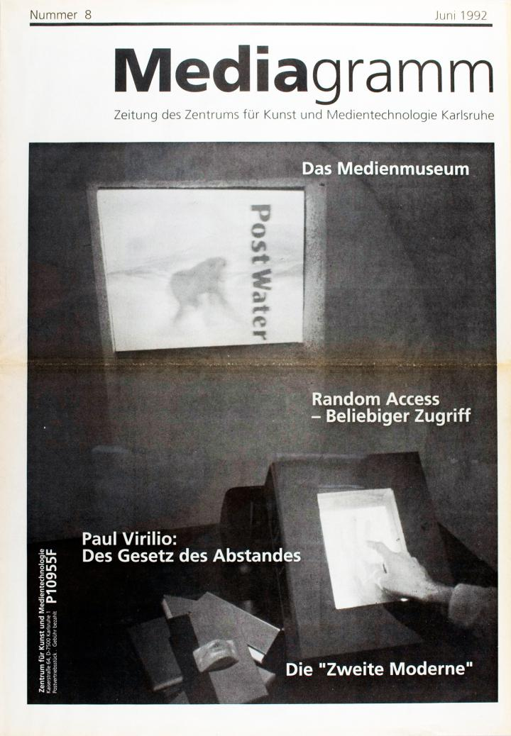 Cover of the publication »Mediagramm Nr. 8«