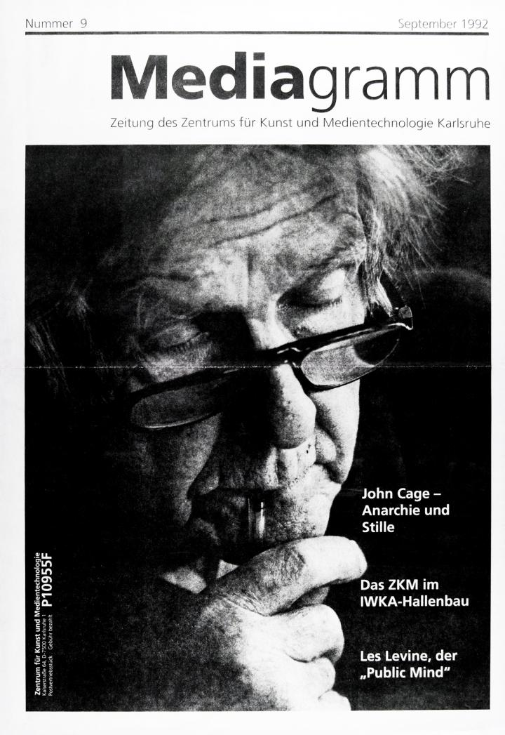 Cover of the publication »Mediagramm Nr. 9«