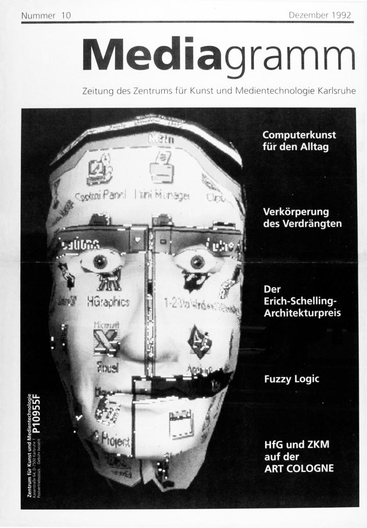 Cover of the publication »Mediagramm Nr. 10«