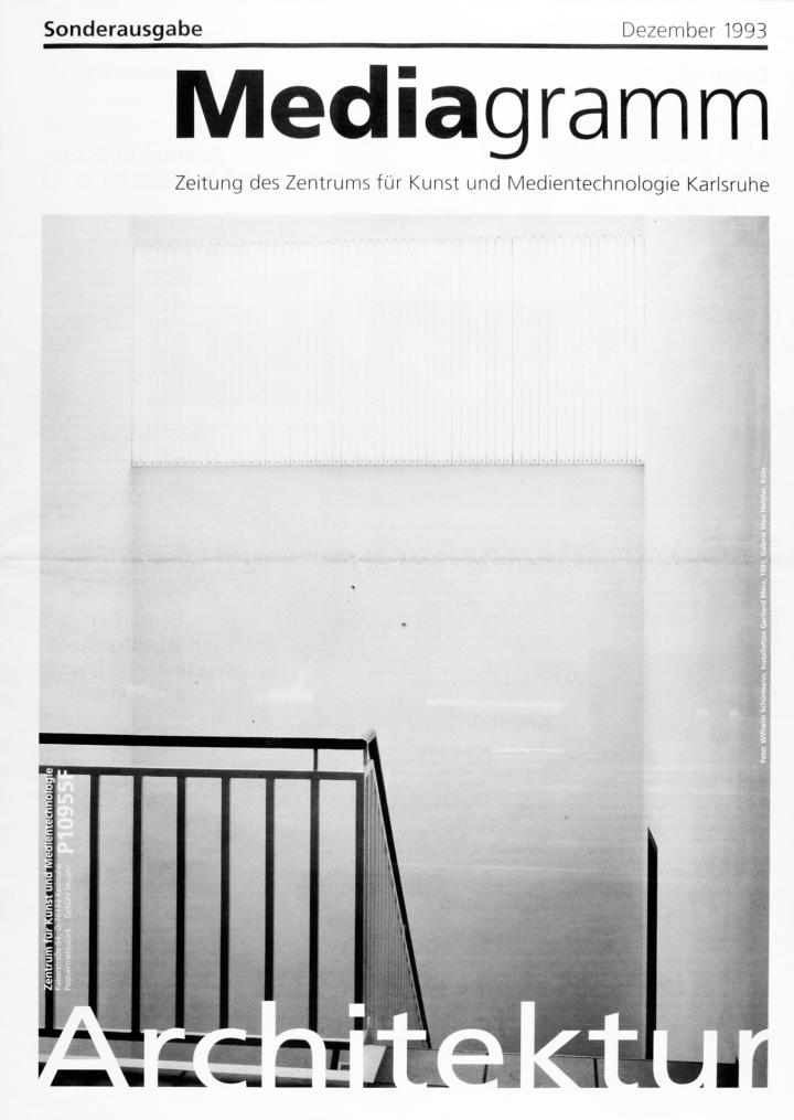 Cover of the publication »Mediagramm Sonderausgabe«