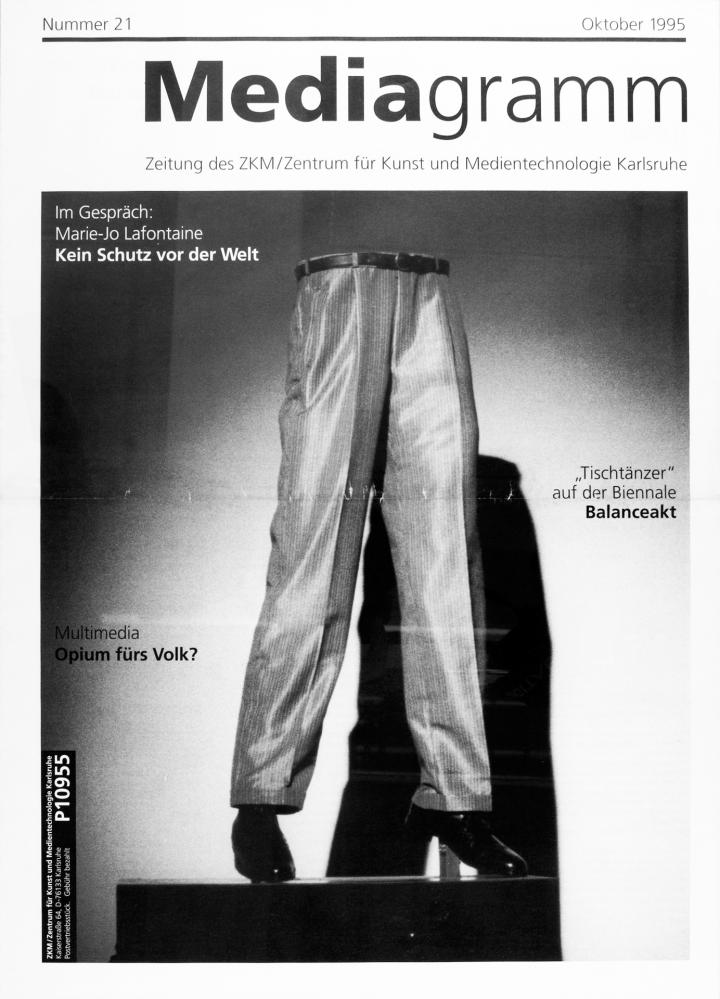 Cover of the publication »Mediagramm Nr. 21«