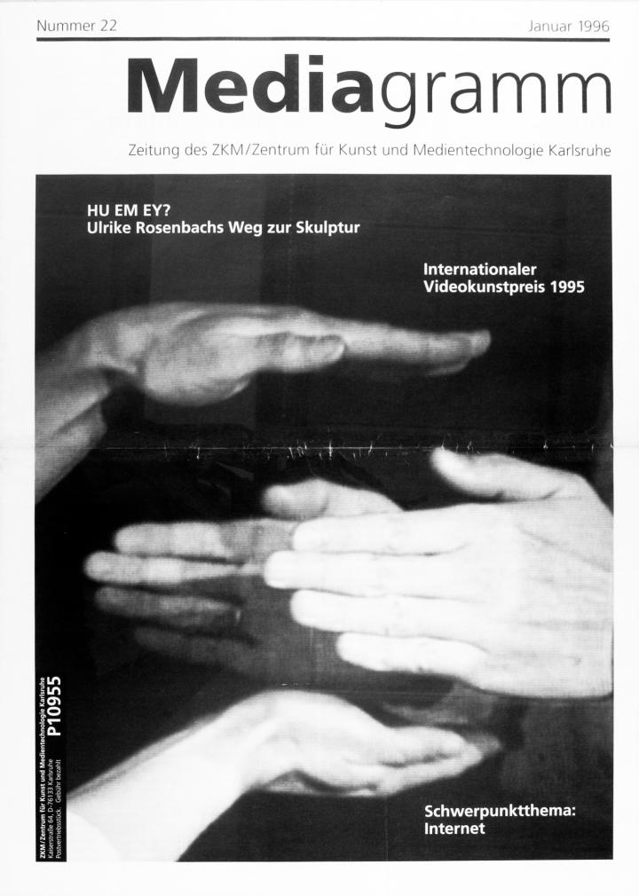 Cover of the publication »Mediagramm Nr. 22«