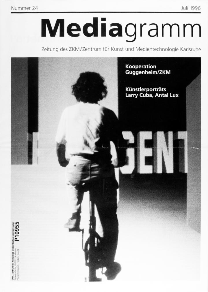 Cover of the publication »Mediagramm Nr. 24«