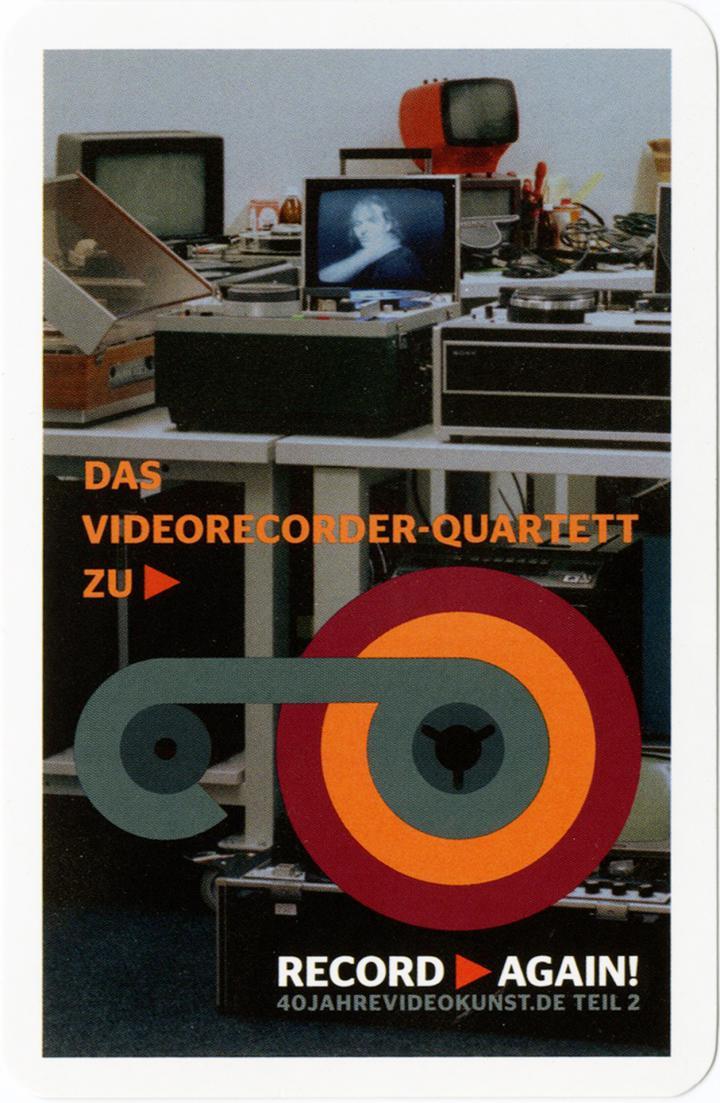 Cover der Publikation »Record Again! Videorecorder Quartett«