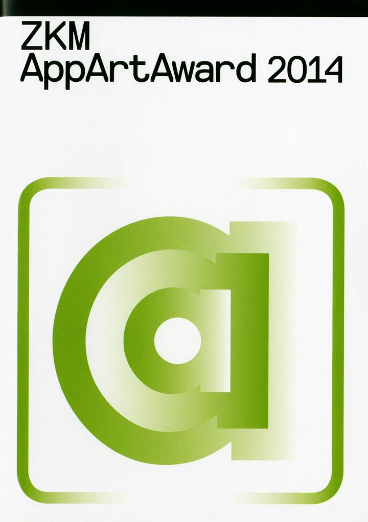 Cover of the publication »AppArtAward 2014«