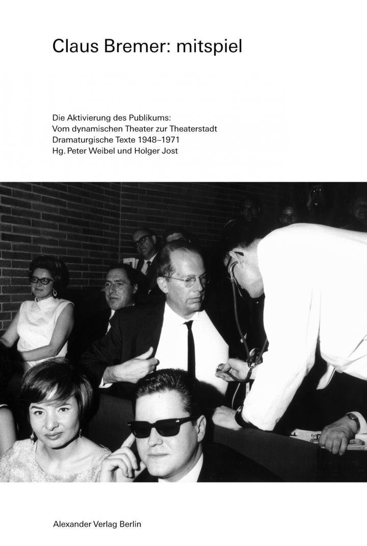 Cover of the publication »Publikation - Claus Bremer: Mitspiel«