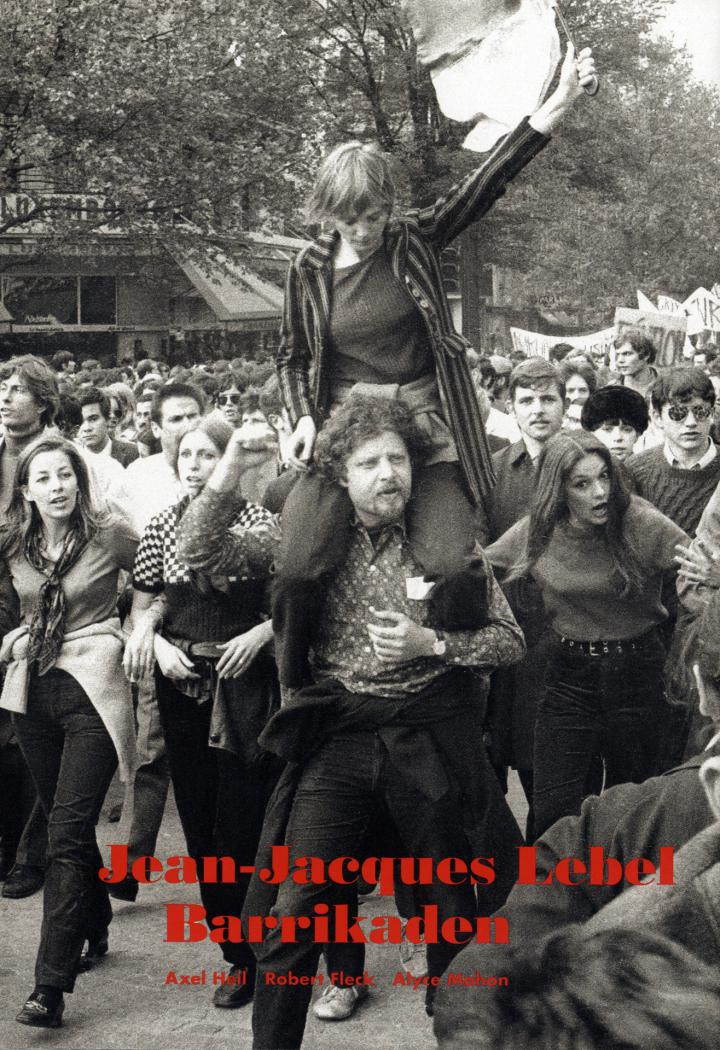 Cover of the publication »Jean-Jacques Lebel: Barrikaden«