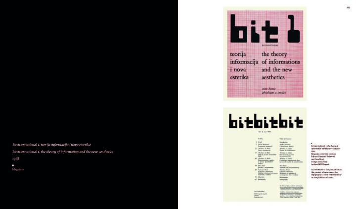 Beispielseite aus dem Buch »A Little-Known Story about a Movement, a Magazine, and the Computer's Arrival in Artrt«
