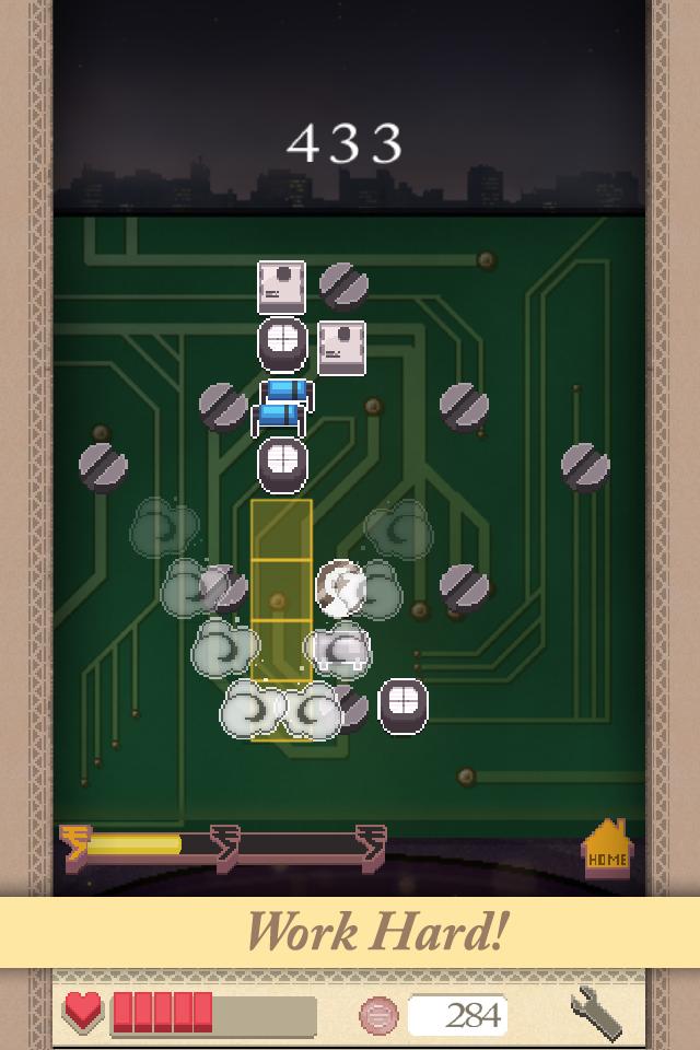 Screenshot des Videospiels »Burn the Boards«