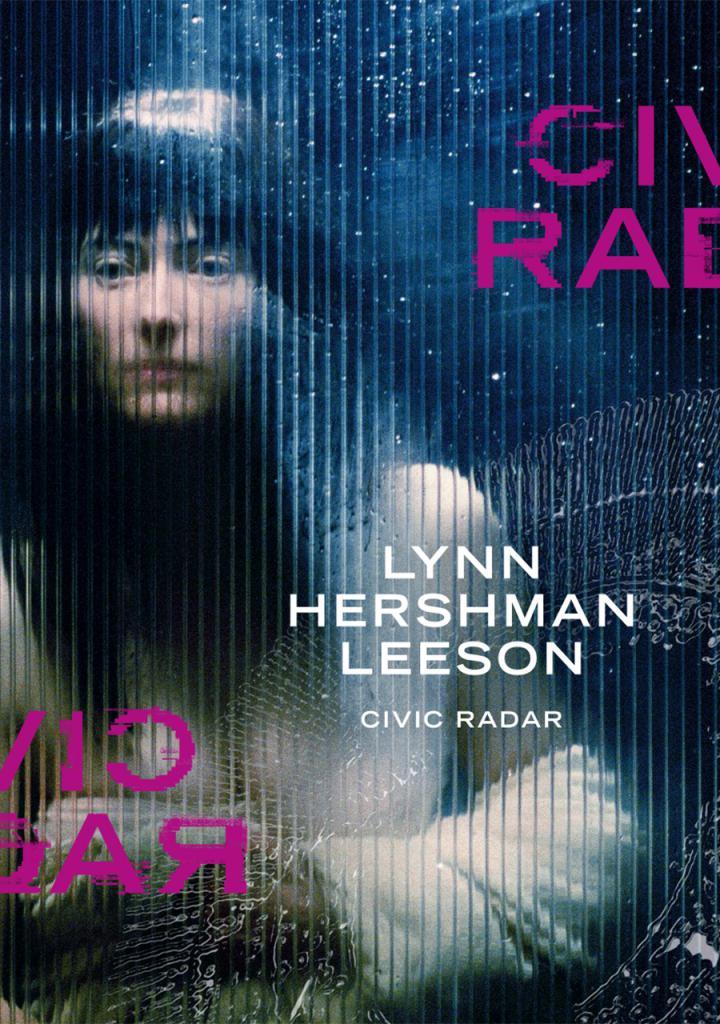 Cover of the publication »Lynn Hershman Leeson. Civic Radar«