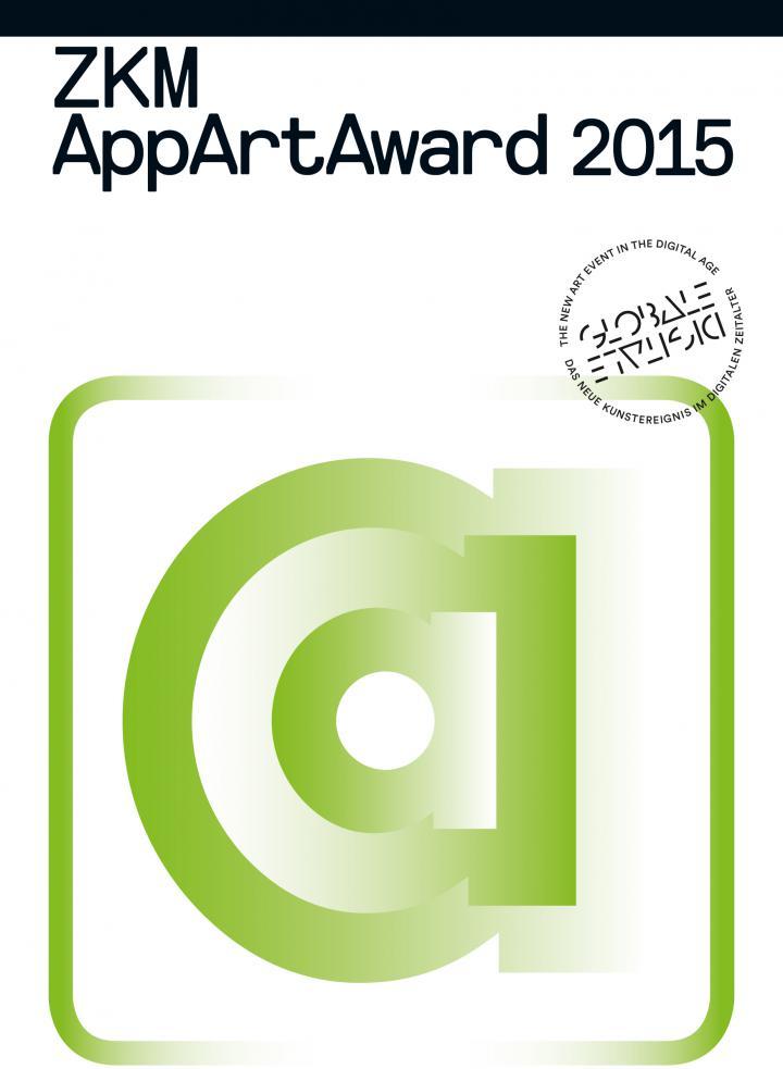 Cover der Publikation »AppArtAward 2015«