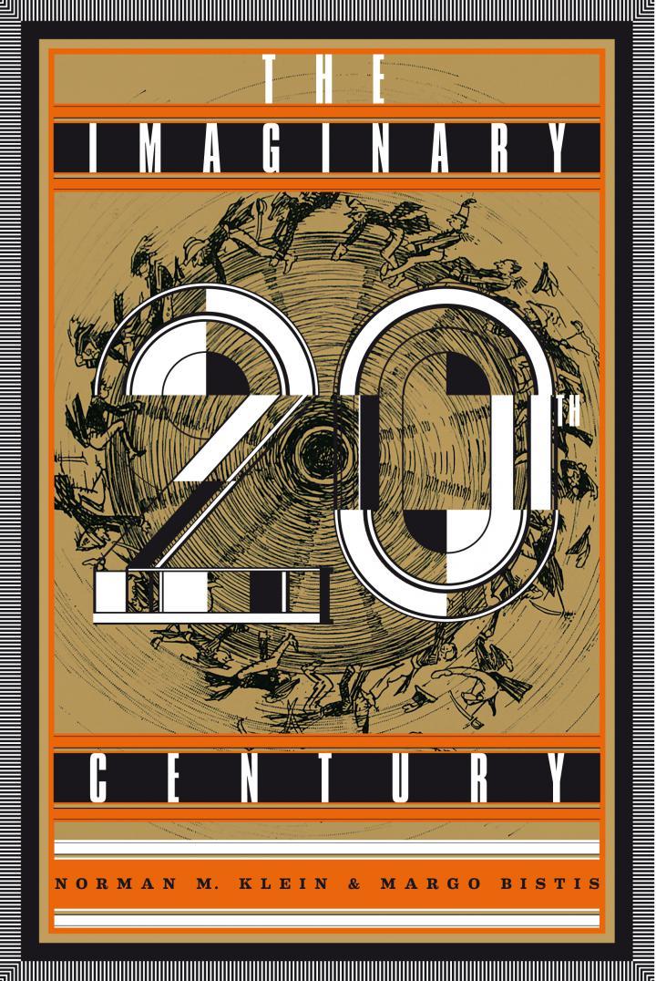 Cover der Publikation »The Imaginary 20th Century«, Schrift auf goldenem Hintergrund