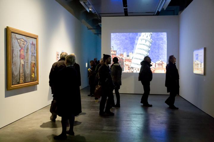 View into the exhibition »Beat Generation«
