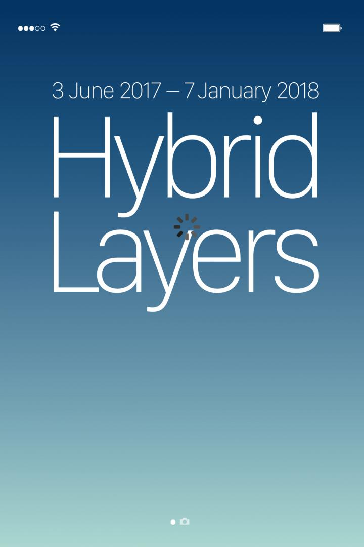 Cover in form of a cell phone display, blue color gradient, white font.