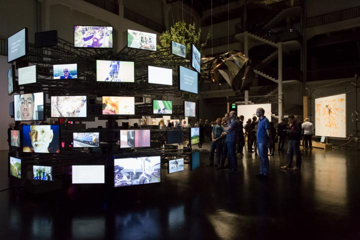 Exhibition view »Datumsoria: The Return of the Real«
