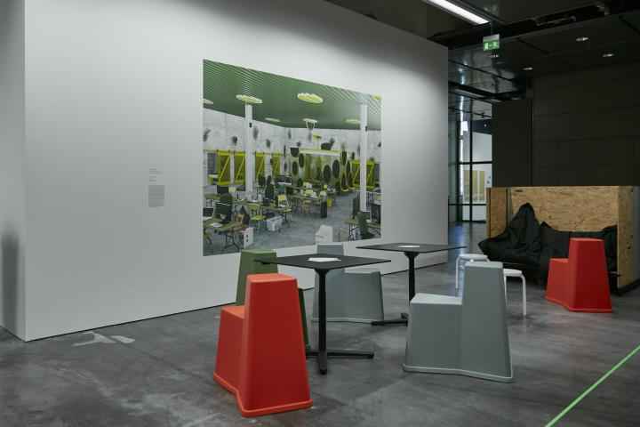 Exhibition view »Learning Takes Place«