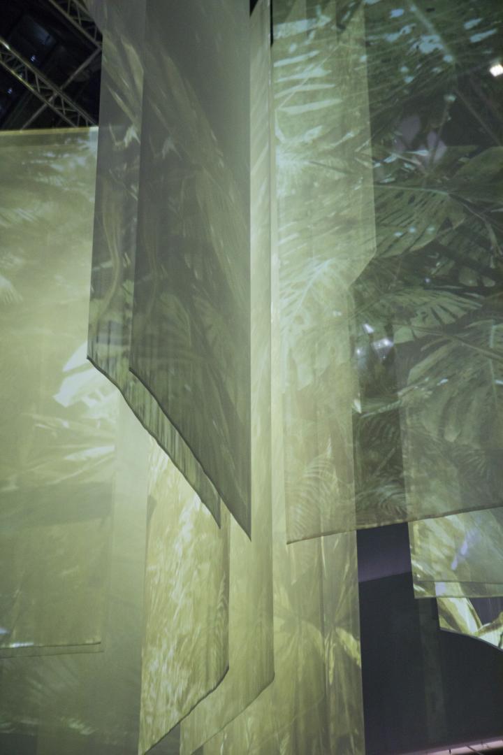 Blick in die Ausstellung »The Art of Immersion III. Inside Tumucumaque«