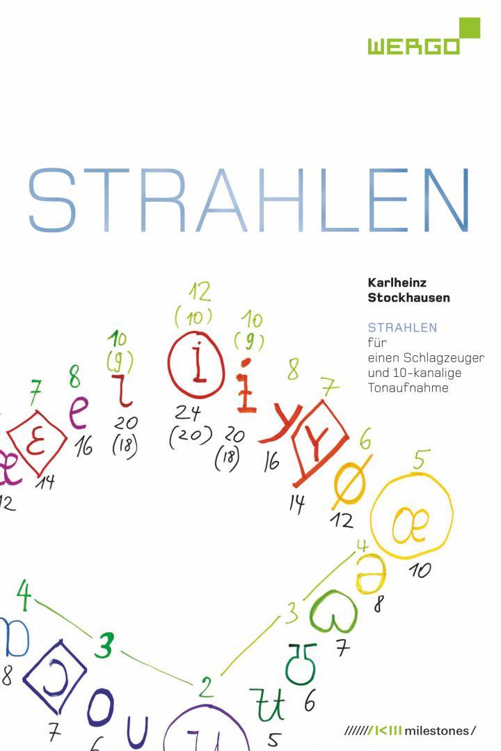 Weißes Cover mit bunter Schrift, Zahlen und Zeichen.