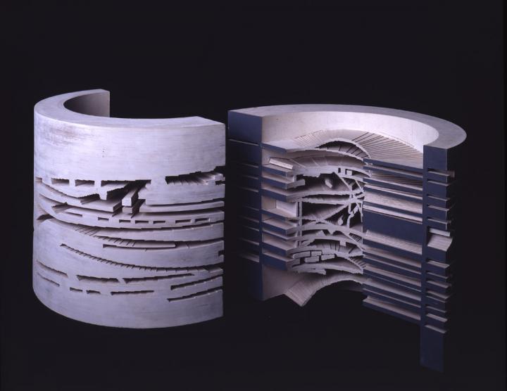 Daniel Libeskind. Virtual House – Model (1997)
