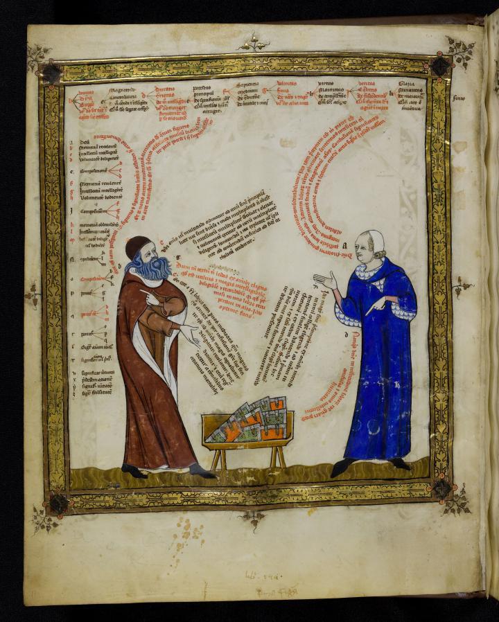 Breviculum ex artibus Raimundi Lulli electum – Cod. St. Peter perg. 92 (ca. 1321)