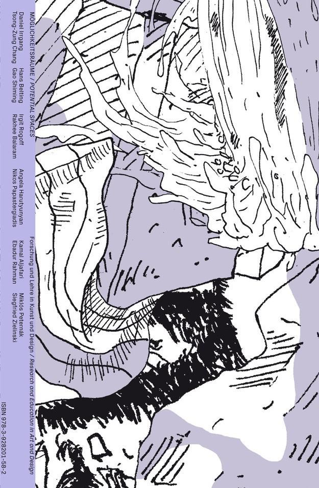 Cover der Publikation in lila, weiß und schwarz