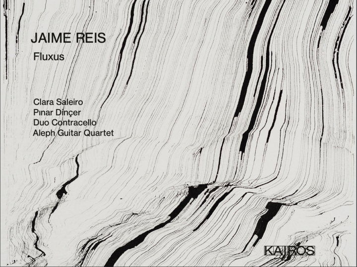 Cover der Audio-CD »Jaime Reis: Fluxus Cycle«, 2020
