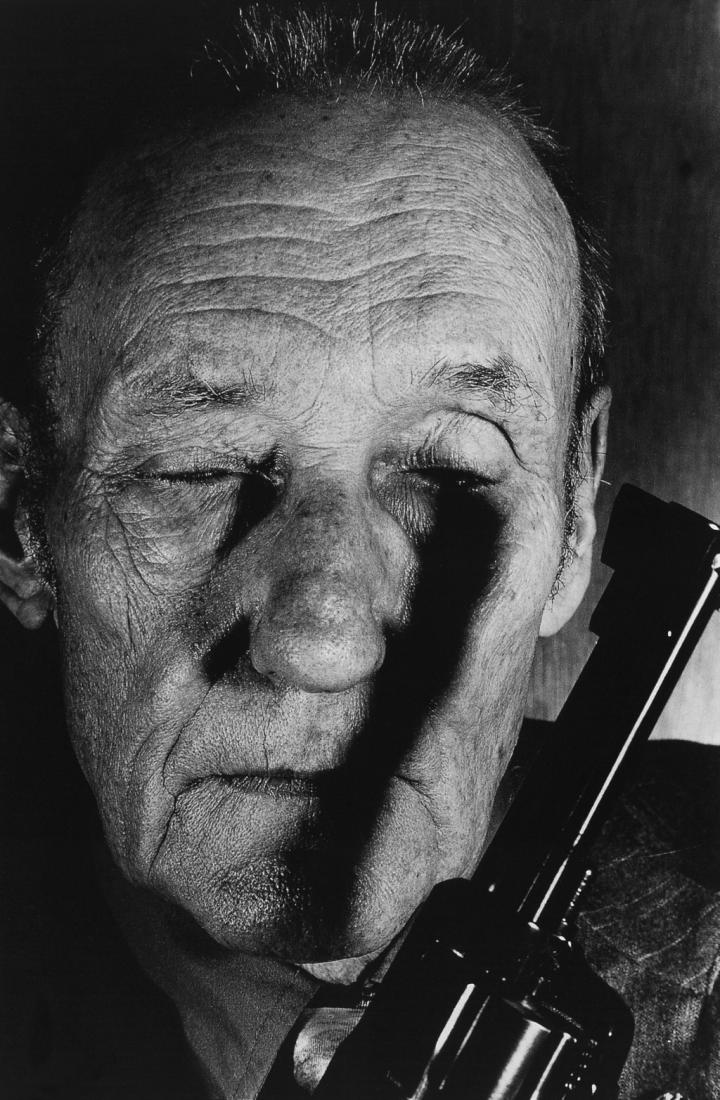 William S. Burroughs, Lawrence, USA, 1990