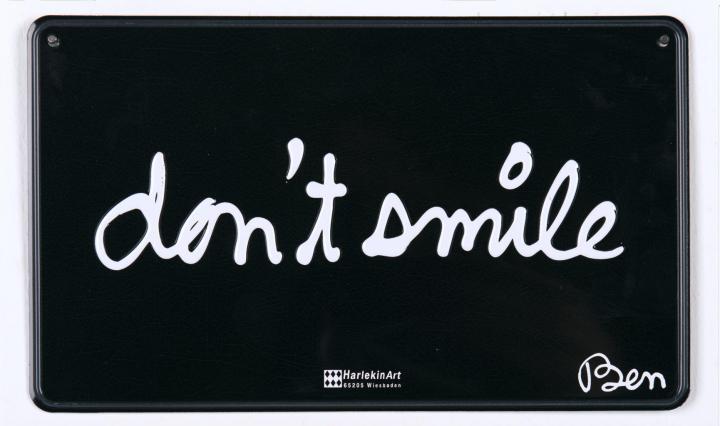 don't smile