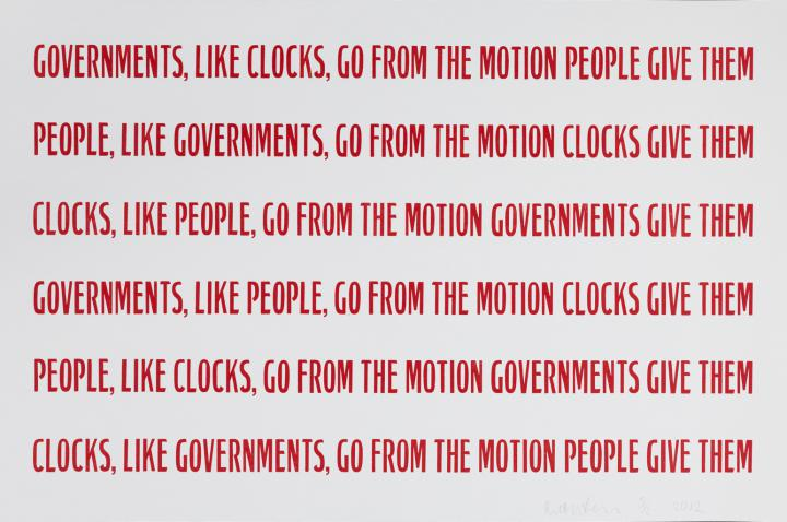 Werk - Government, People, Clocks