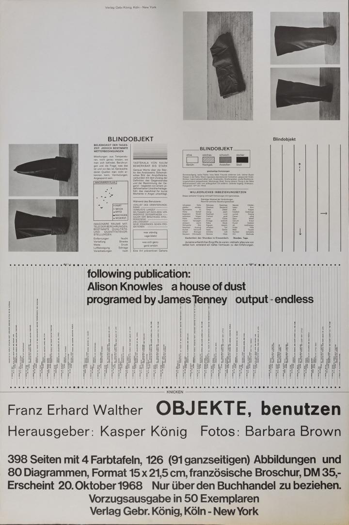Werk - Franz Erhard Walther. OBJEKTE, benutzen