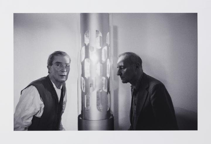 Werk - Brion Gysin & William S. Burroughs, Dreamachine-gazing