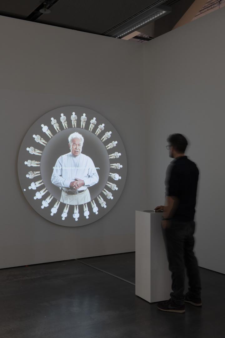 Werk - Recombinatorial Poetry Wheel