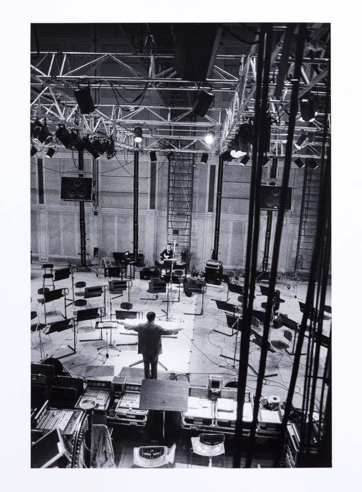 Pierre Boulez at IRCAM Paris