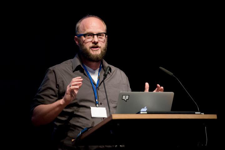 David Schraven @ Symposium »Onlinejournalismus und die 4. Macht«, 18.9.2015