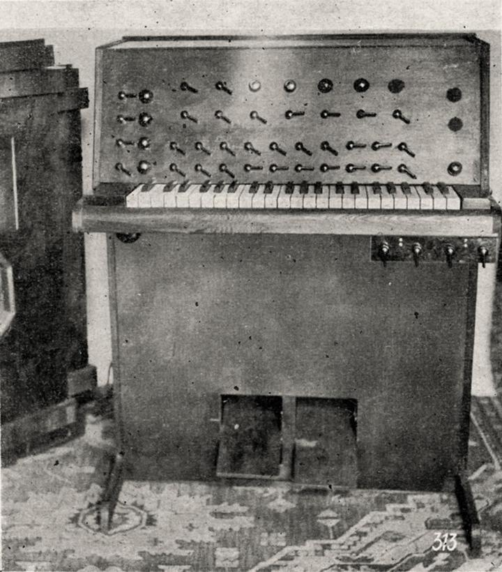 Harald Bode, Warbo Formant Organ, 1937