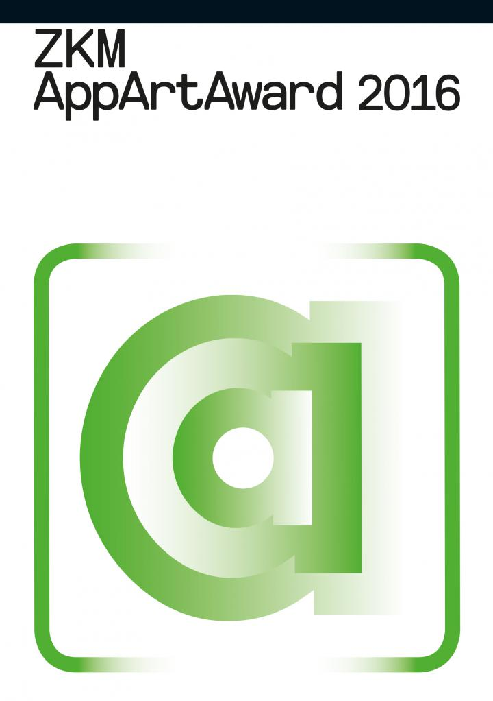 Cover of the brochure of the AppArtAwards 2016