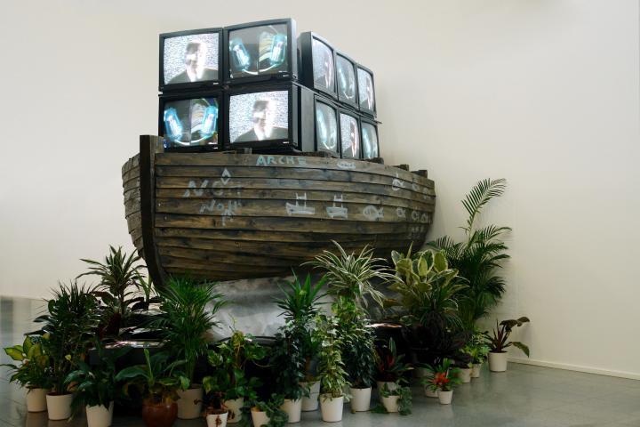 Nam June Paik, »Arche Noah«, 1989, ZKM | Karlsruhe