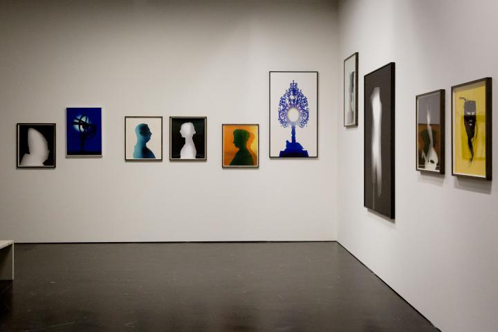 Blick in die Ausstellung »Leibniz' Lager«