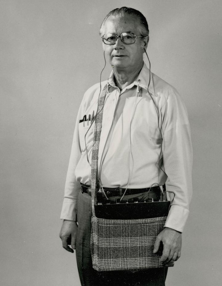 Portrait von Harald Bode.