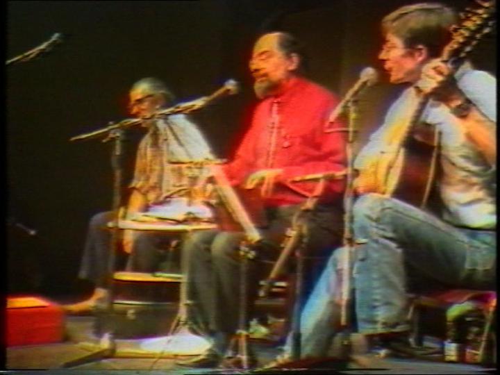 Werk - Allen Ginsberg on tour, feb. 16 1983 with Peter Orlovsky & Steven Taylor (Ausschnitt / excerpt)
