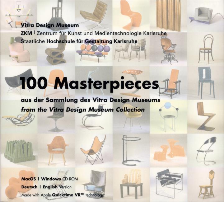 Cover der Publikation »100 Masterpieces aus der Sammlung des Vitra Design Museums«