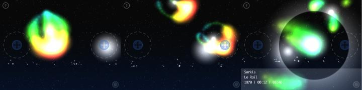 Screenshot der App »Sonor Field«