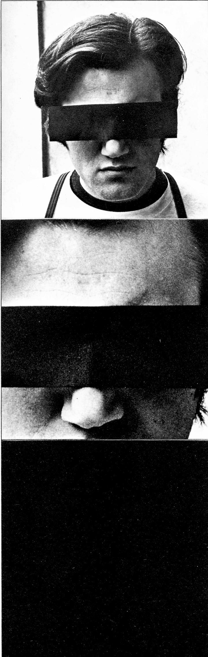 Die Portraitaufnahme zeigt Peter Weibel im Rahmen der Ausstellung »respektive Peter Weibel«.