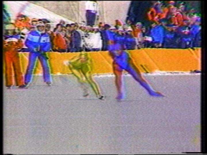 Pop-Pop Video: General Hospital / Olympic Women Speed Skating